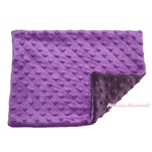 Purple Baby Infant Minky Dots Pillowcase BI45