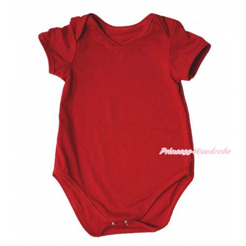 Plain Style Red Baby Jumpsuit TH106