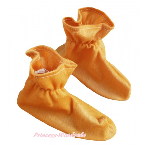 Animals Kids Light Brown Costume Shoes S661
