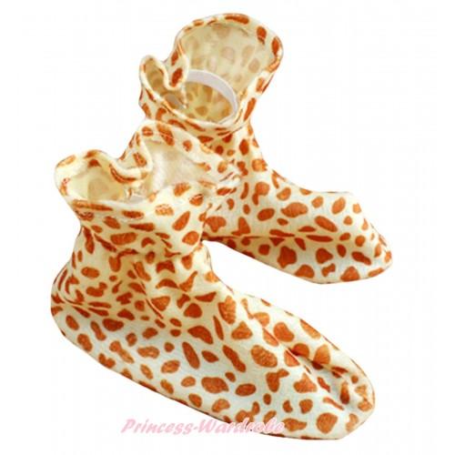 Animals Kids Giraffe Costume Shoes S665