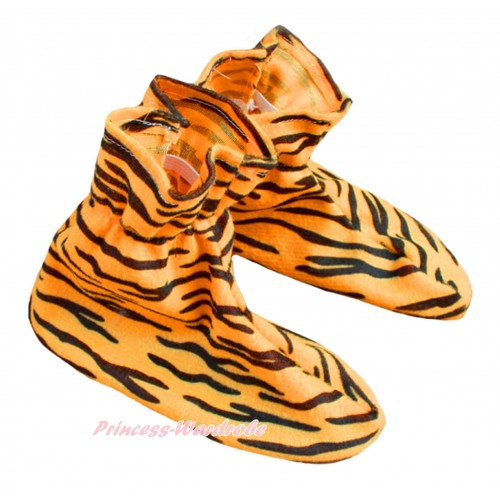 Animals Kids Tiger Costume Shoes S666