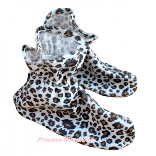 Animals Kids leopard Costume Shoes S668