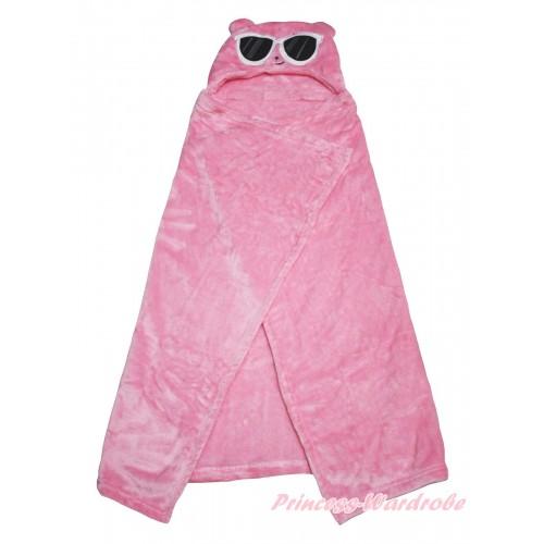 Pig Pink Cute Animal Baby Swaddling Wrap Blanket BI68