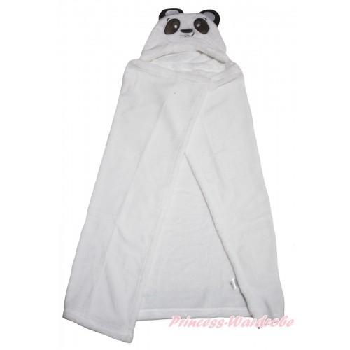 Panda White Cute Animal Baby Swaddling Wrap Blanket BI72