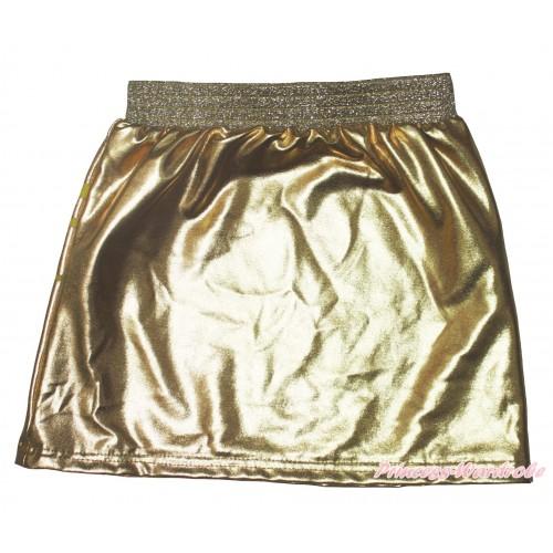 Gold Girls Cotton Skirt P267