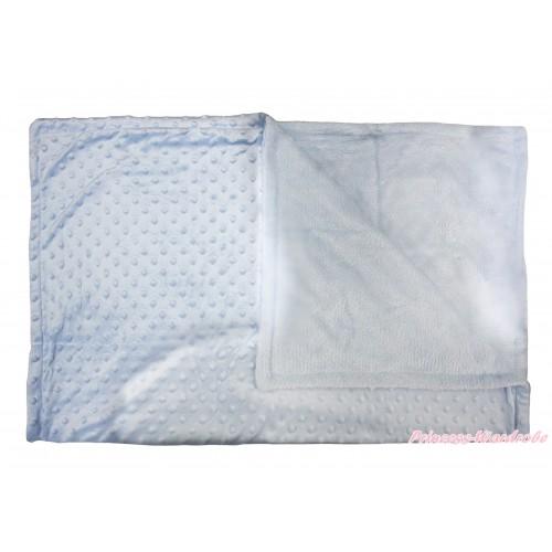 Light Blue Baby Swaddling Wrap Blanket BI74