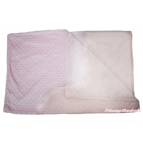 Light Pink Baby Swaddling Wrap Blanket BI75