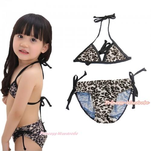 Leopard Print Bikni Swimming Suit SW79