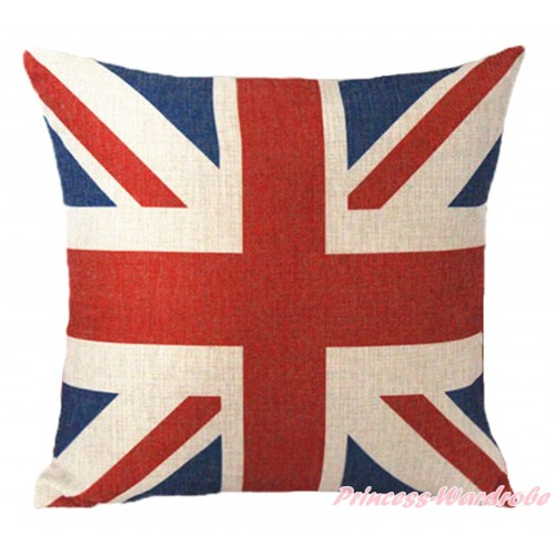 Patriotic British Flag Home Sofa Cushion Cover HG104