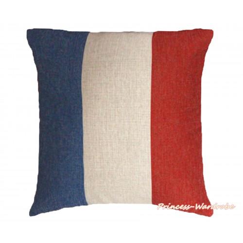 Patriotic France Flag Home Sofa Cushion Cover HG108