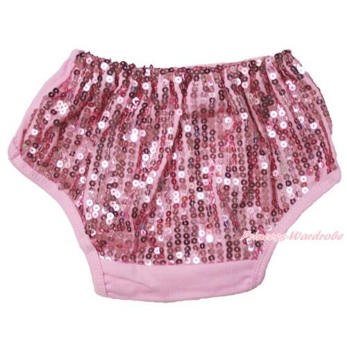 Light Pink Sparkle Sequins Panties Bloomers B105