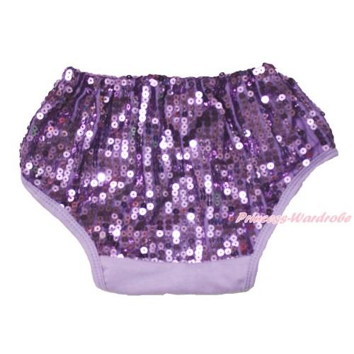Lavender Sparkle Sequins Panties Bloomers B106