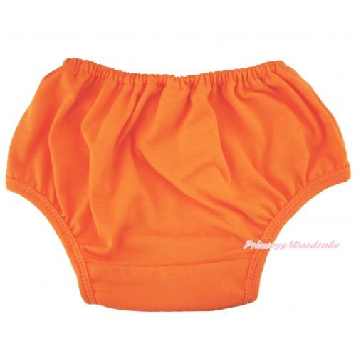 Halloween Plain style Orange Panties Bloomers B109