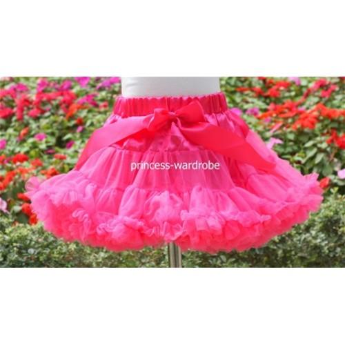 Hot Pink Teen Full Pettiskirt XXL AP03