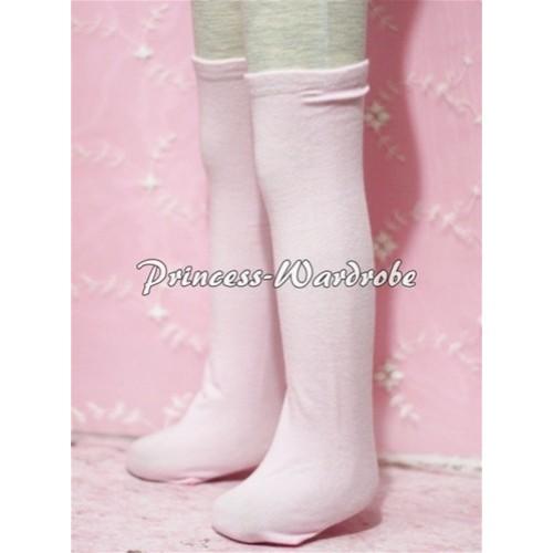 Light Pink Cotton Stocking SK01