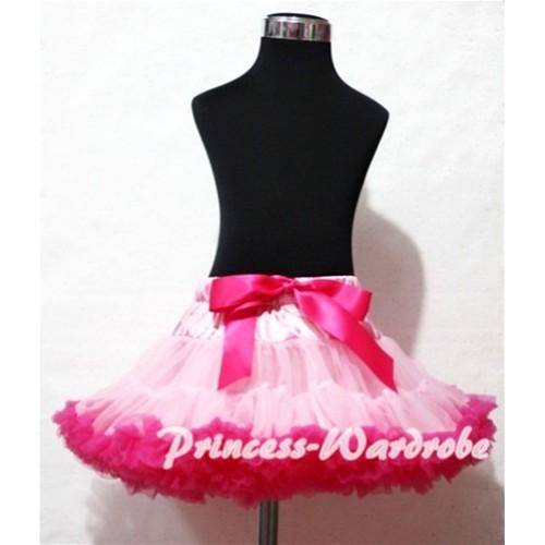Light Hot Pink Pettiskirt P92