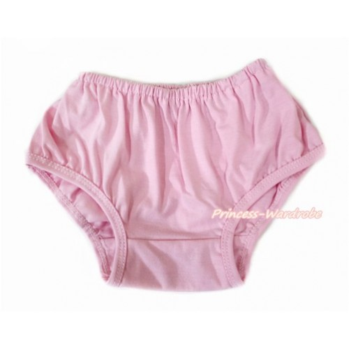Plain style Light Pink Panties Bloomers B100