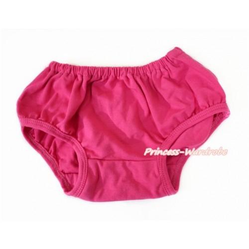 Plain style Hot Pink Panties Bloomers B080