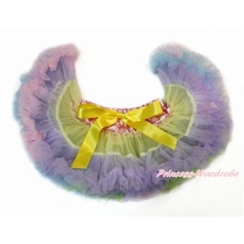 Hot Pink White Dots Waist Rainbow Yellow Lavender Light Pink Light Blue PREMIUM New Born Pettiskirt D015