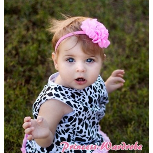 Milk Cow Baby Tank Top with one Button CM01