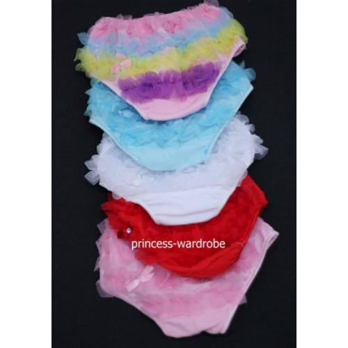 Pettiskirt Ruffles Panties Bloomers B00