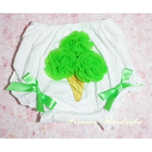 Green Ice Cream Panties Bloomer BC05