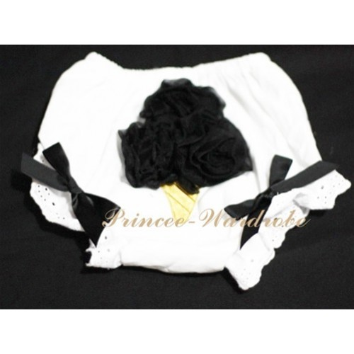 Black Ice Cream Panties Bloomers BC11