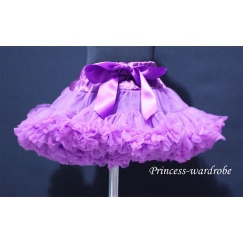 Dark Purple Teen Full Pettiskirt XXL AP06