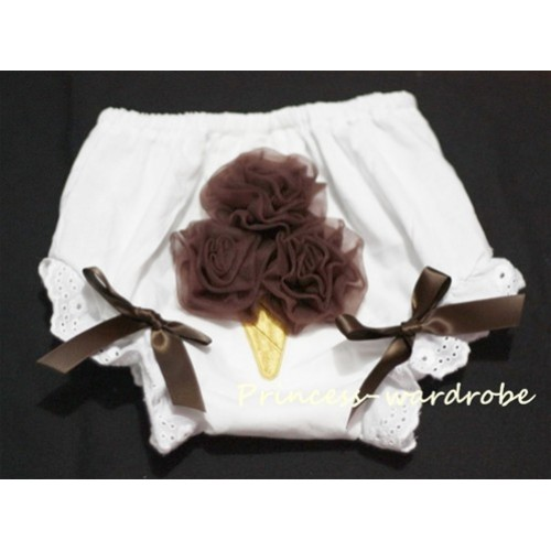 Brown Ice Cream Panties Bloomers BC12