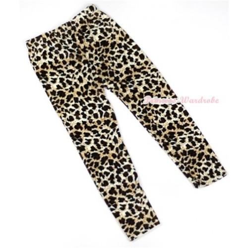Leopard Pattern Leggings Trousers LG235
