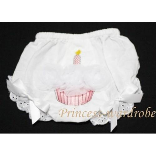 White Bloomer & Pure White Cupcake BC41