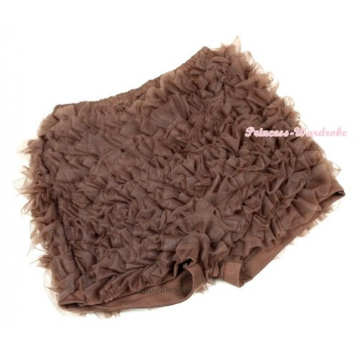 Brown Ruffles Pettishort PS013