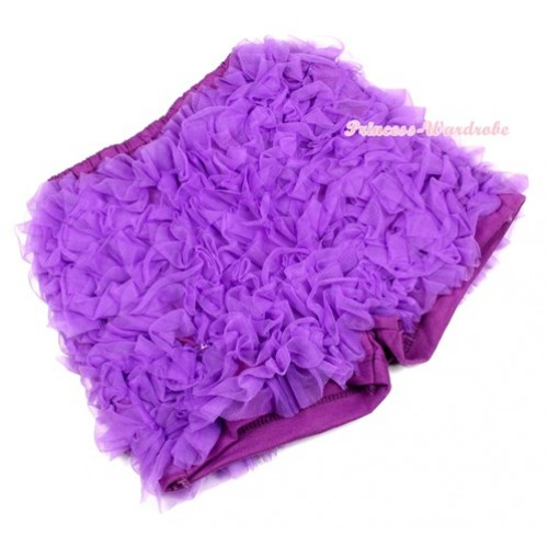 Dark Purple Ruffles Pettishort PS015