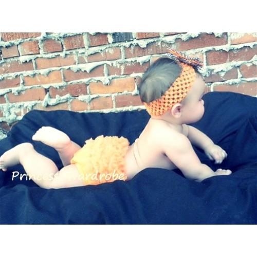 Orange Ruffles Panties Bloomers B27