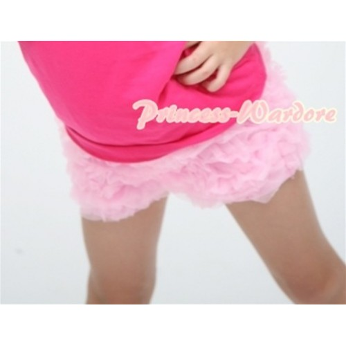 Light Pink Ruffles Pettishort PS001