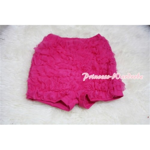 Hot Pink Ruffles Pettishort PS003