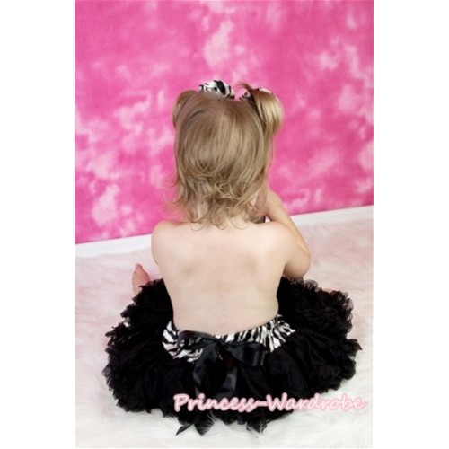 Zebra Waist Black New Born Pettiskirt N84