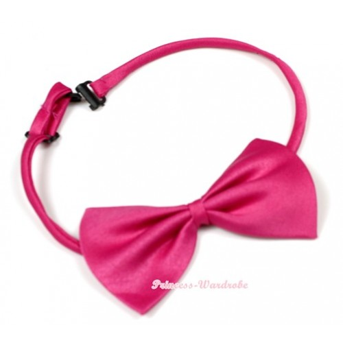 Hot Pink Bow Ties BT05