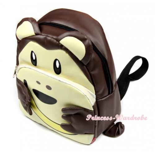 Monkey Cute Kids Backpack Animal School Shoulder Bag CB82