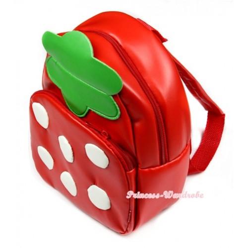 Strawberry Cute Kids Backpack Animal School Shoulder Bag CB83