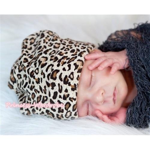 Baby Leopard Jumpsuit Cap TH213