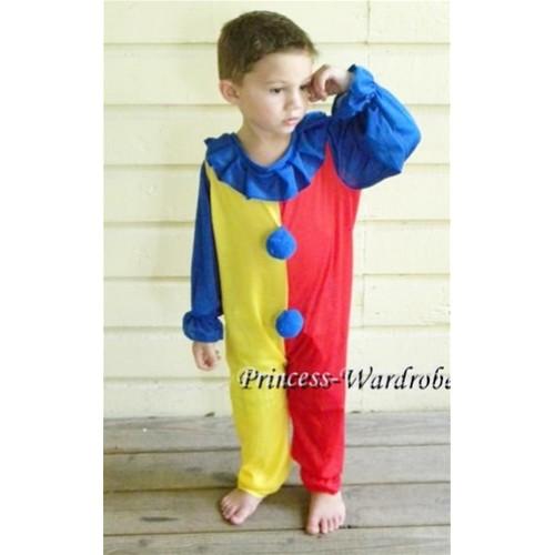 Halloween Circus Clown Costume C35