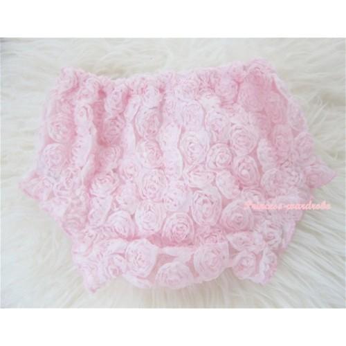 Light Pink Romantic Rose Panties Bloomers BR25