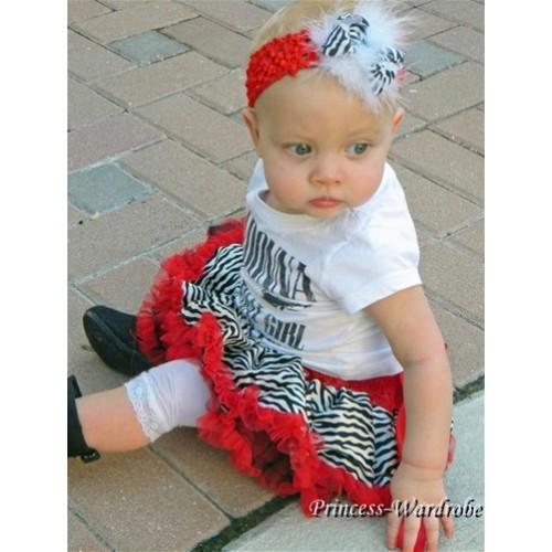 Red Zebra New Born Pettiskirt N11