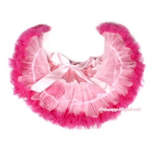 Light Hot Pink PREMIUM Newborn Pettiskirt D014