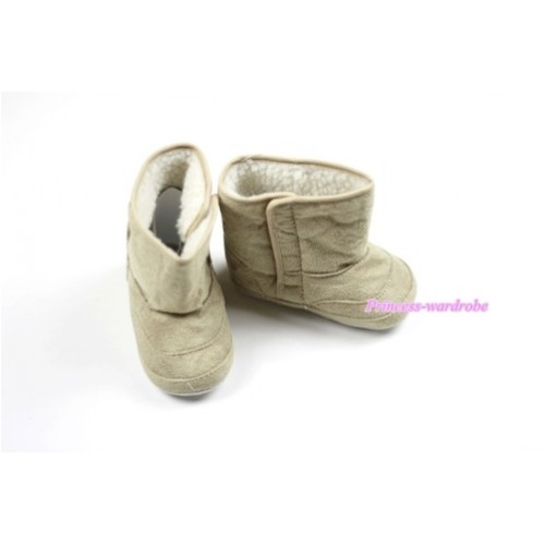 Khaki Baby Crib Boots SB20