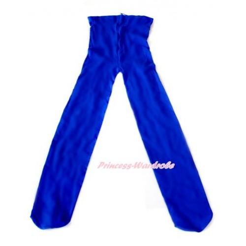 Plain Royal Blue Leggings Skinny Pants Tights LG243