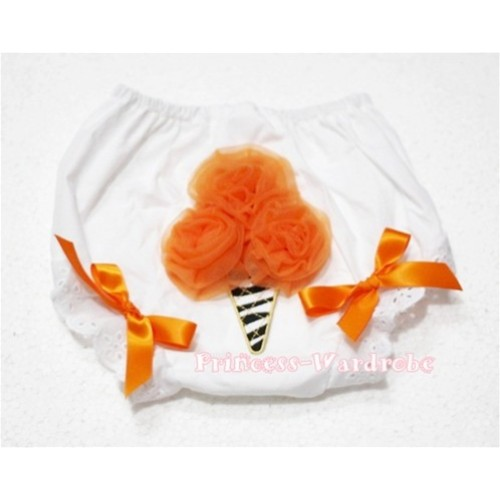 Orange Zebra Ice Cream Panties Bloomers BD18