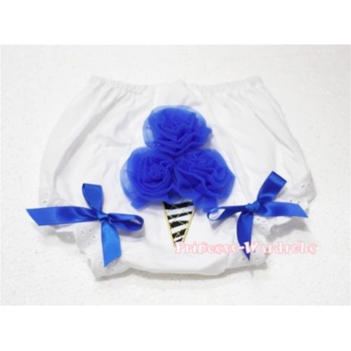 Royal Blue Zebra Ice Cream Panties Bloomers BD23