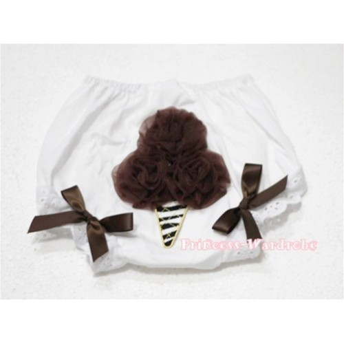 Brown Zebra Ice Cream Panties Bloomers BD29